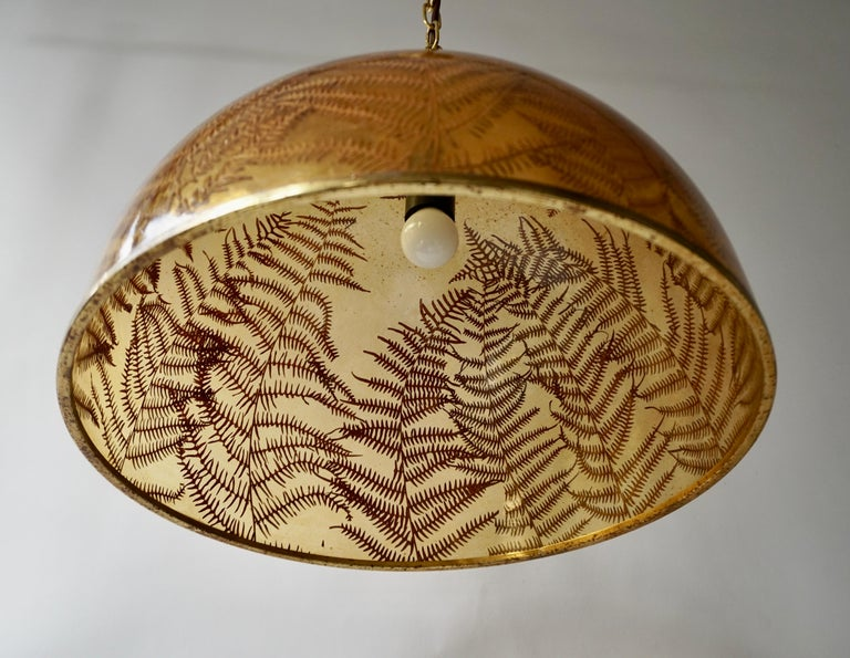 1970s Resin Pendant Lamp For Sale 6