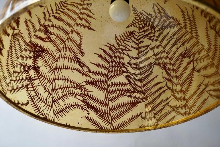 1970s Resin Pendant Lamp For Sale 7