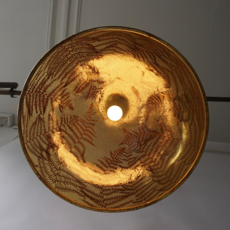 1970s Resin Pendant Lamp For Sale 1