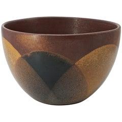 1970s Robert Maxwell Pottery Craft California Design Drip Planter Midcentury