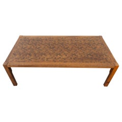 1970s Rolf Middelboe & Gorm Lindum Wenge Coffee Table by Tranekaer Furniture