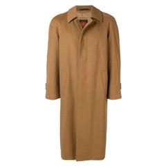 1970s Salko Beige Wool Loden Coat
