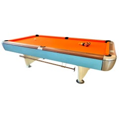 1970s Fiberglass and Wood Pool Table