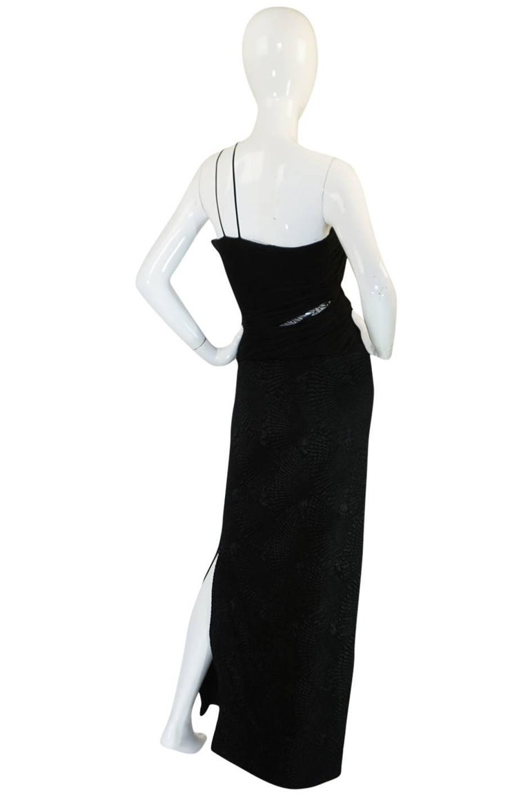 Galanos was known as the designer that could rival the French in terms of construction and design. He launched his atelier in 1951 and though he was never a designer that was formally made a couture house he certainly produced clothing with many of