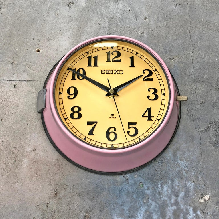 1970s Seiko Retro Vintage Industrial Antique Steel Quartz