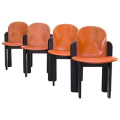 1970s Silvio Coppola Dining Chair for Fratelli Montina Set of 4