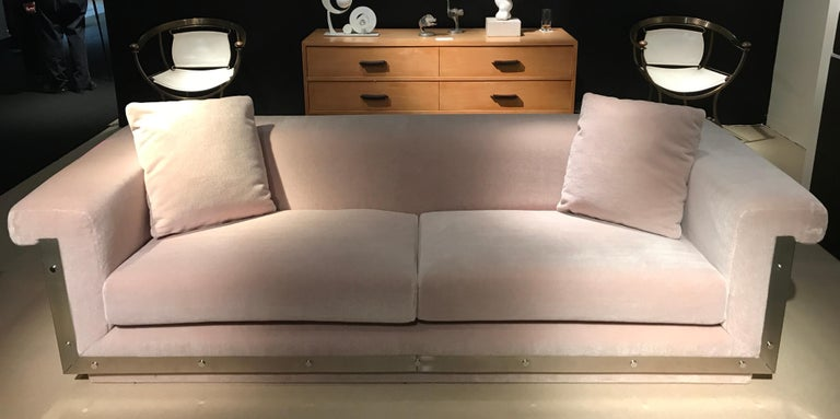 1970s Sofa by Maison Jansen For Sale 4