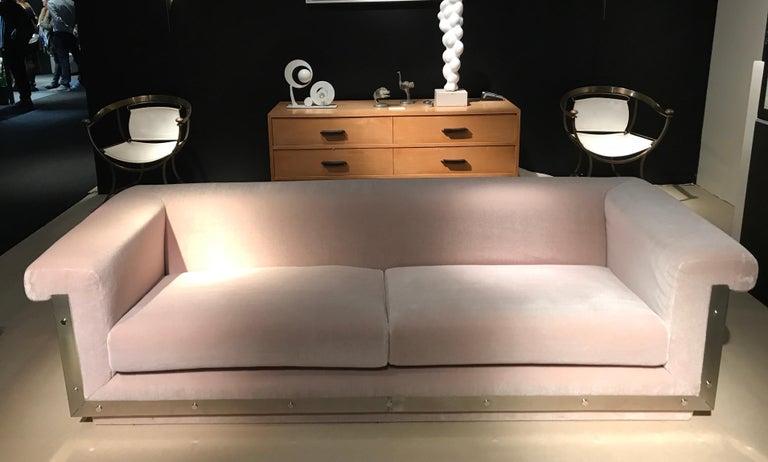 1970s Sofa by Maison Jansen For Sale 7