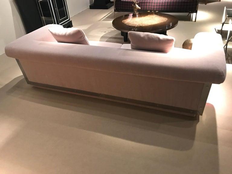 1970s Sofa by Maison Jansen For Sale 8