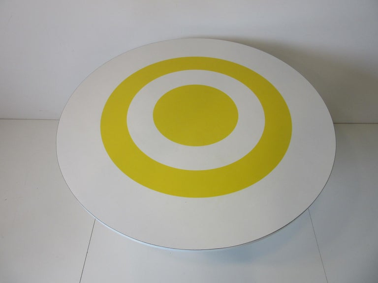 American 1970s Space Age Dining Table in the Style of Verner Panton For Sale