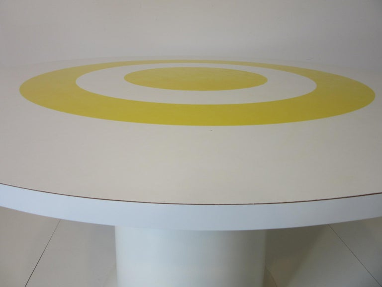 1970s Space Age Dining Table in the Style of Verner Panton For Sale 1