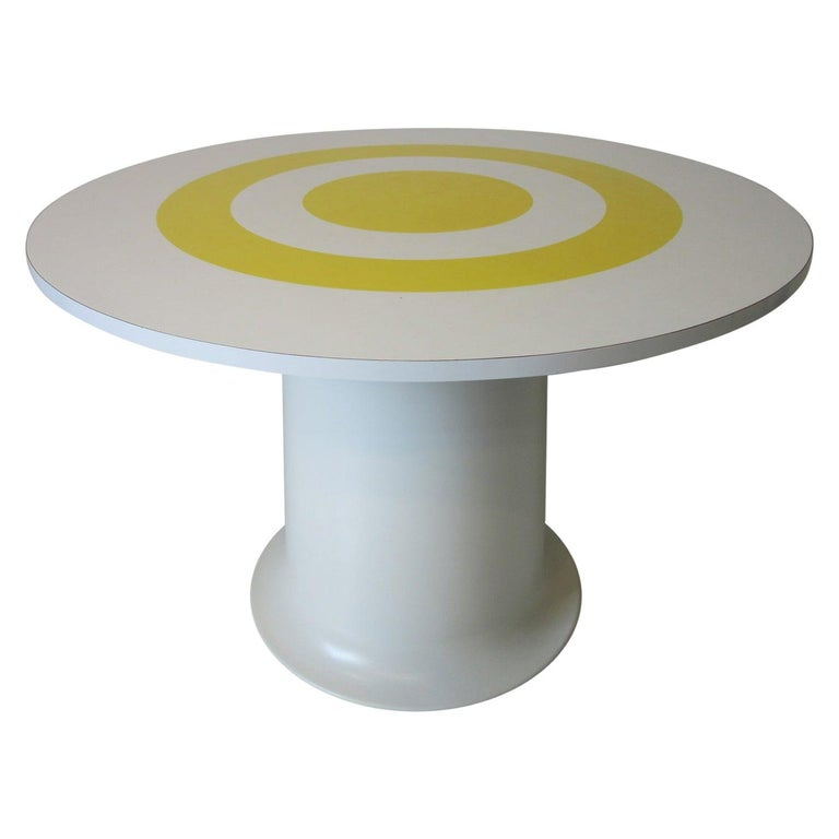 1970s Space Age Dining Table in the Style of Verner Panton For Sale