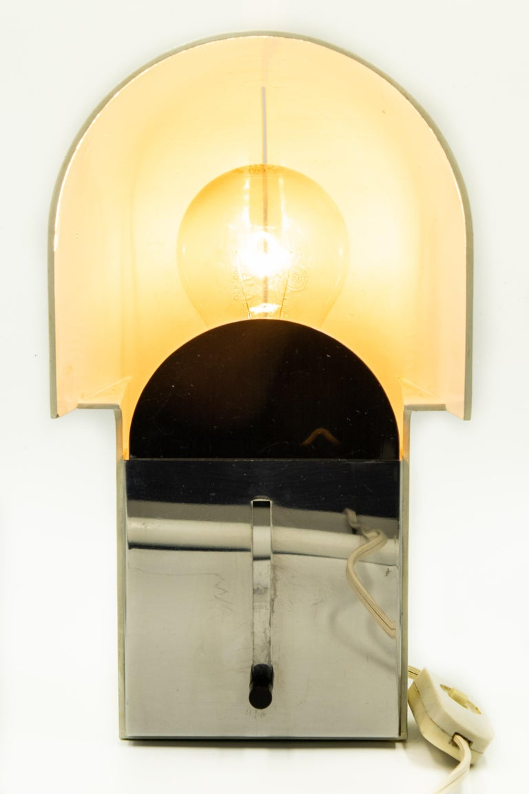 1970s Space Age Luci Pala Model 490 Table Lamp by Danilo and Corrado Aroldi For Sale 5