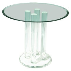 1970s Space Age Lucite Dining or Center Table