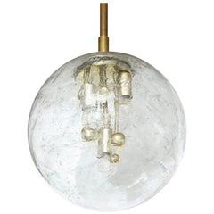 1970s Space Age Sputnik Pendant Light by Doria