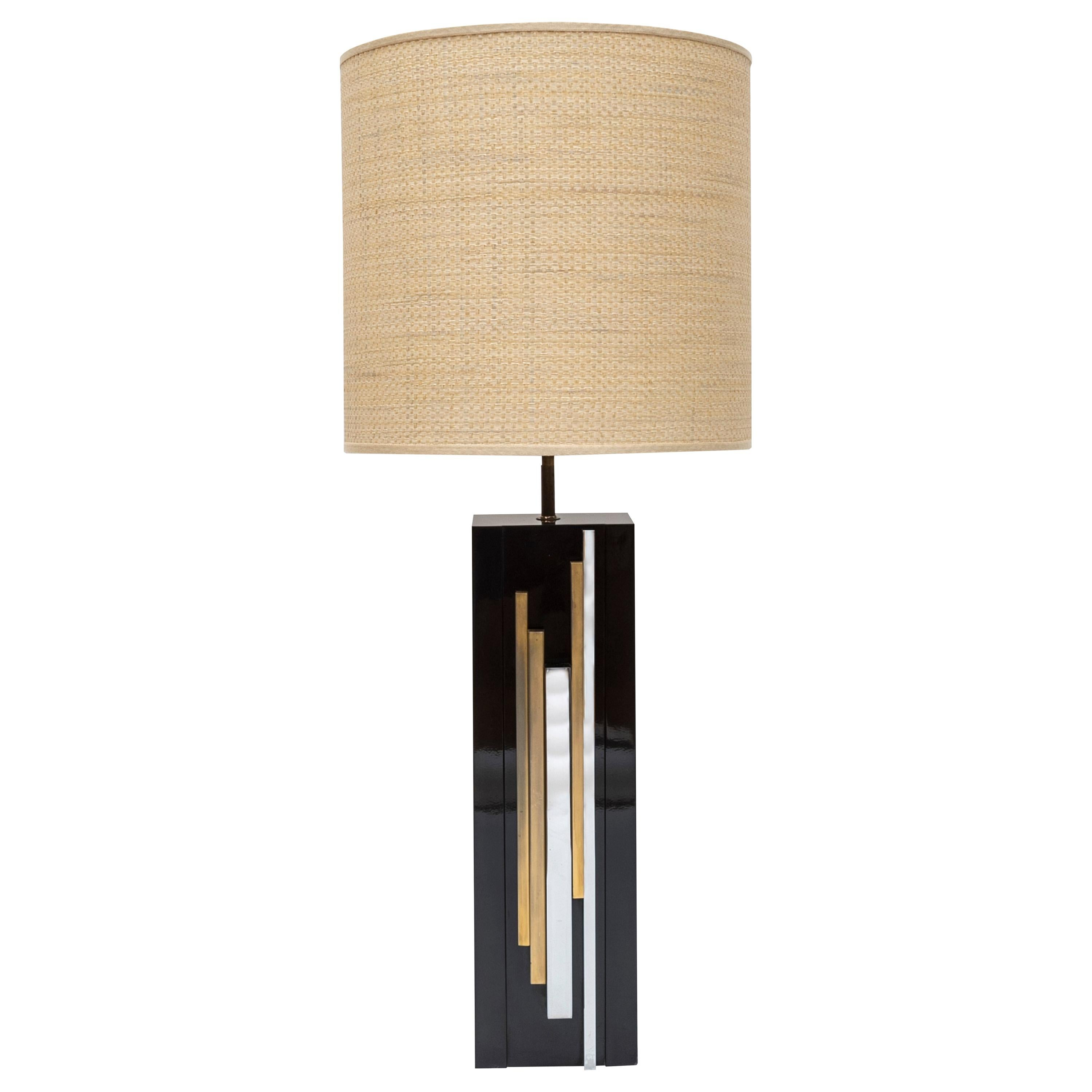 """1970s """"Space Age"""" Table Lamp by Maria Pergay"""