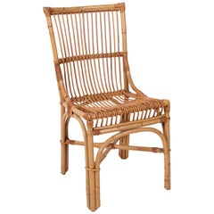 1970s Spanish Bamboo Chair