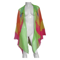 1970s Stephen Burrows Color Block Jacket