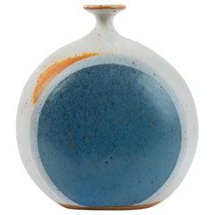 1970s Studio Pottery Bud Vase by Isabel Parks