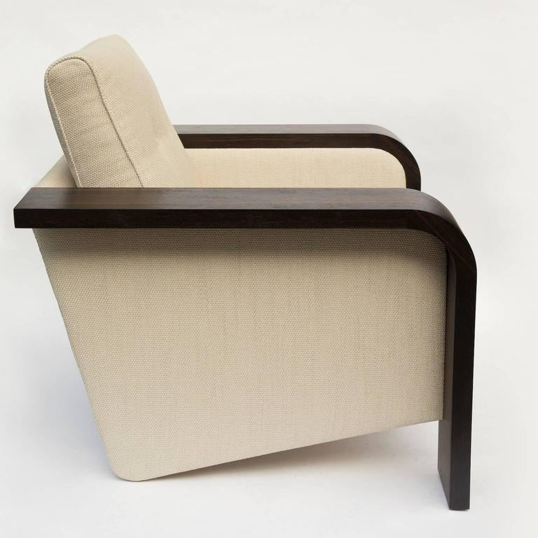 Mid-Century Modern 1970s Style Cocktail Lounge Chair For Sale