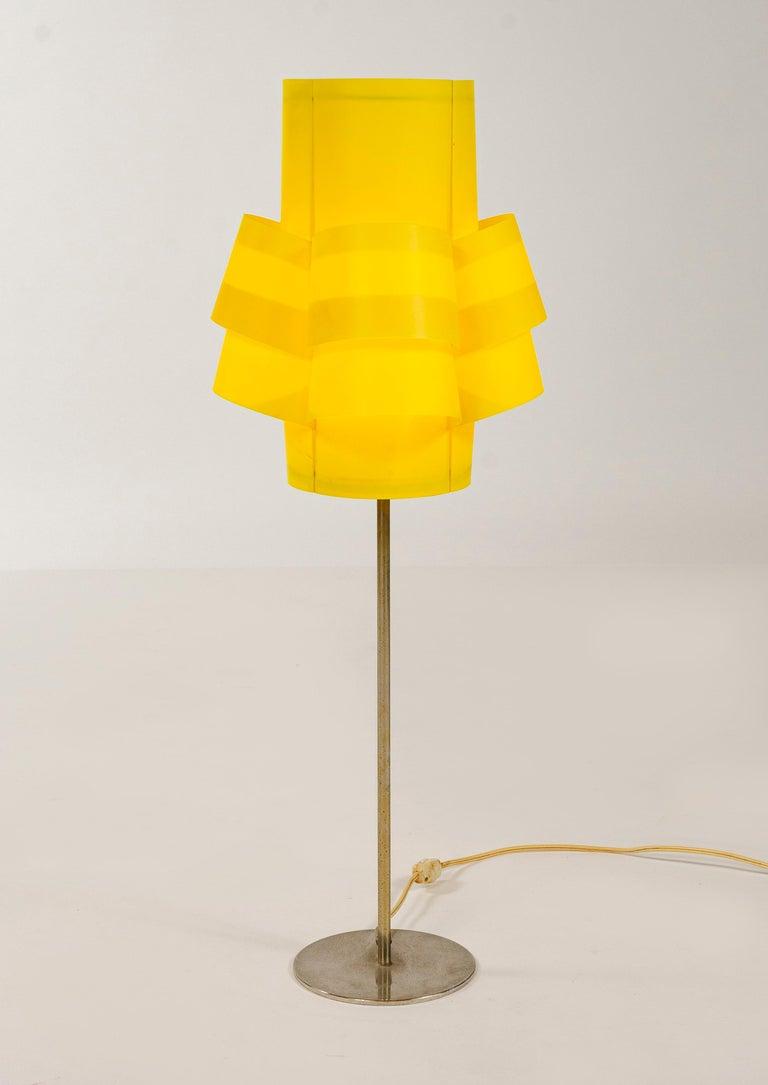 Scandinavian Modern 1970s Swedish Table Lamp by Torsten Orrling for Hans-Agne Jakobsson AB For Sale