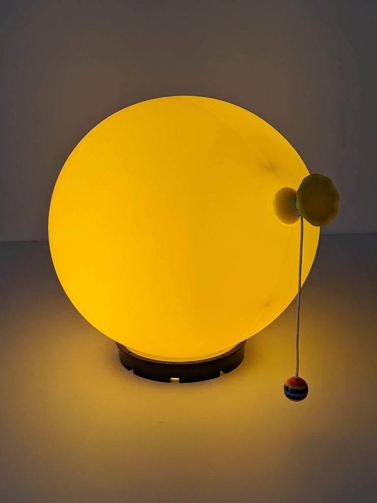 1970s Table, Wall or Ceiling Ballon Lamp by Yves Christin, Italy For Sale 3