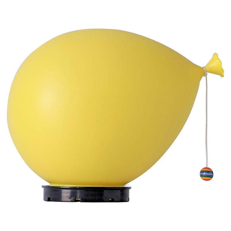 1970s Table, Wall or Ceiling Ballon Lamp by Yves Christin, Italy For Sale