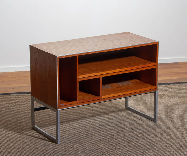 Mid-Century Modern 1970s Teak MC30 Audio Cabinet by Jacob Jensen for Bang & Olufsen, Denmark For Sale
