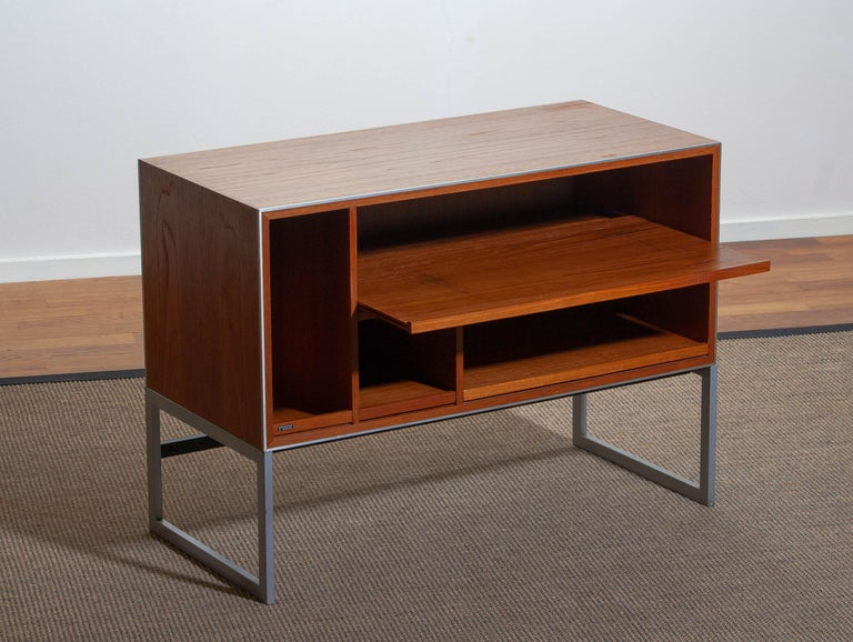 1970s Teak MC30 Audio Cabinet by Jacob Jensen for Bang & Olufsen, Denmark For Sale 1