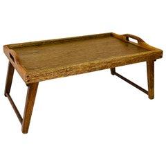 1970s Teak Wood Breakfast Tray
