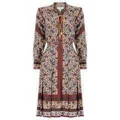 1970s Ted Lapidus Boho Dress