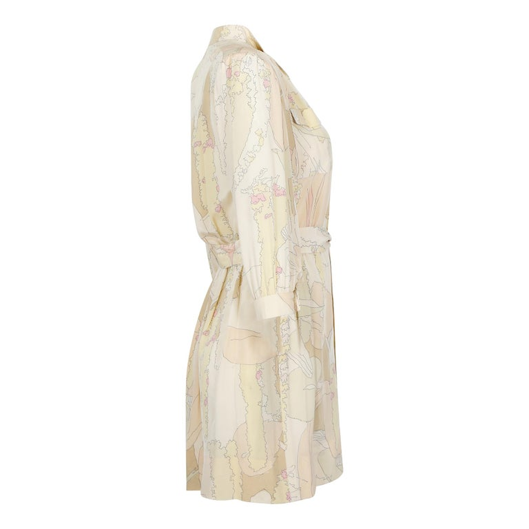A stylish 1970s daywear piece by revered designer Ted Lapidus who began his long fashion career at the house of Dior before branching out on his own in 1951.  He is known for his unisex style of dressing and was worn by leading French stars of the