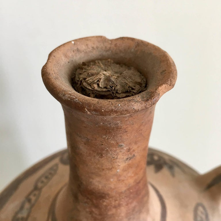 Late 20th Century 1970s Terracotta Pot from Mexico For Sale