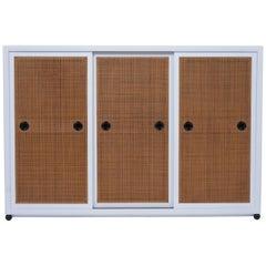 1970s Three-Door Bookcase Cabinet by Baker