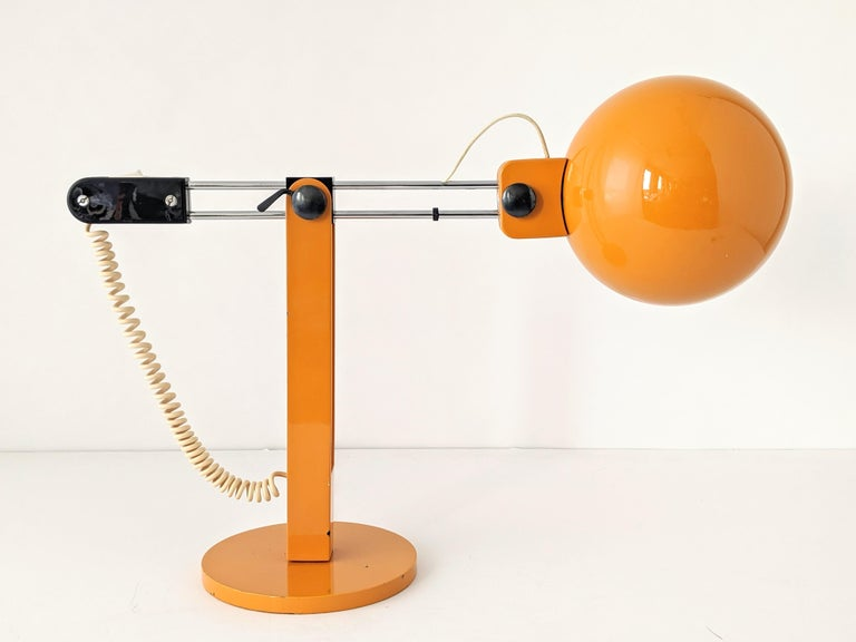 1970s Tramo Large Swivel Table Lamp, Spain For Sale 2