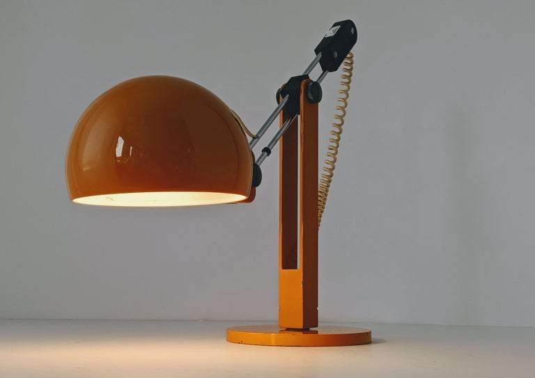 1970s Tramo Large Swivel Table Lamp, Spain For Sale 4
