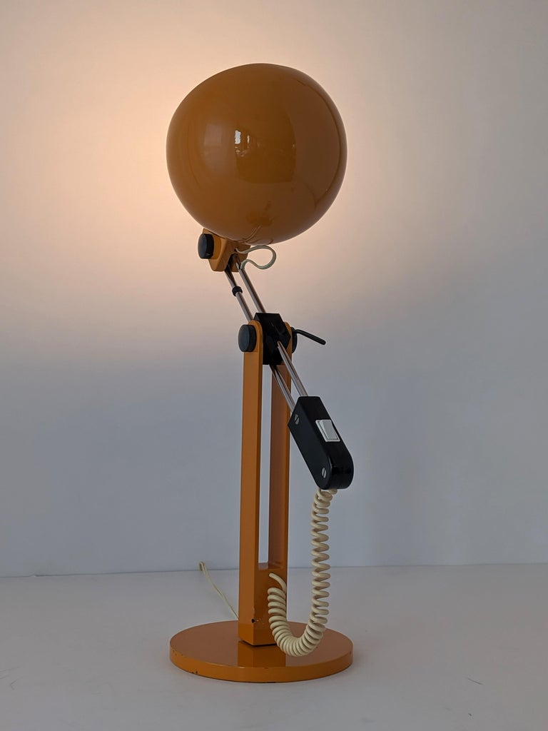 1970s Tramo Large Swivel Table Lamp, Spain For Sale 5