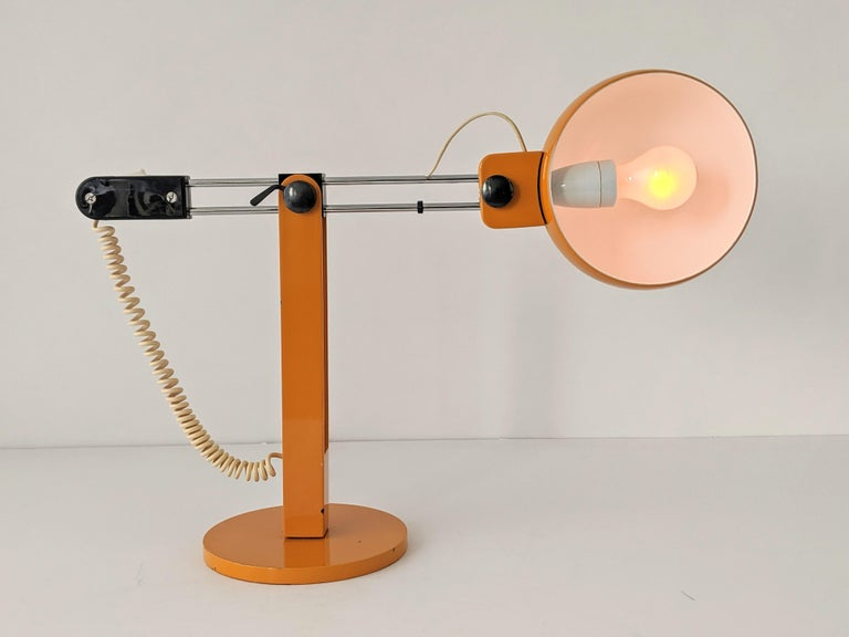 1970s Tramo Large Swivel Table Lamp, Spain For Sale 1