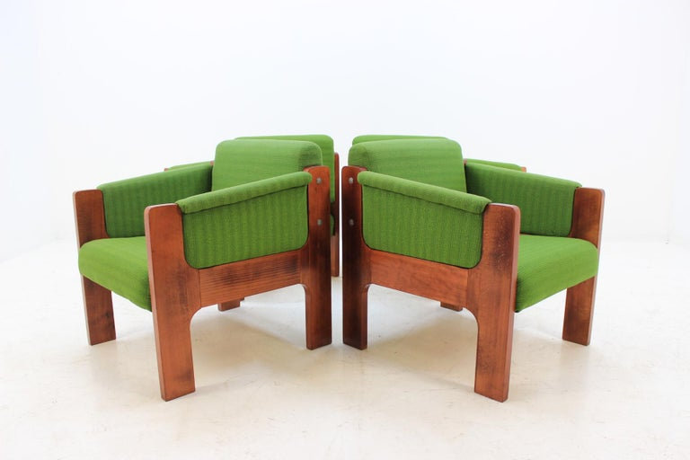 The chairs were made on order. Unique pieces.