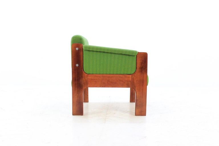 Late 20th Century 1970s Unique Lounge Chair, Czechoslovakia For Sale