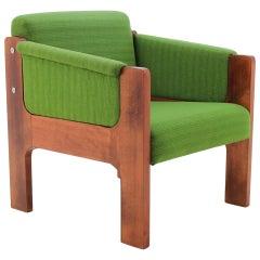 1970s Unique Lounge Chair, Czechoslovakia