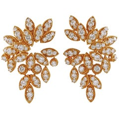 1970er Jahren van Cleef & Arpels Diamant-Ohrringe