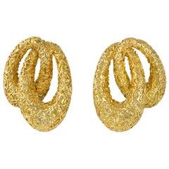1970s Van Cleef & Arpels Gold Earrings