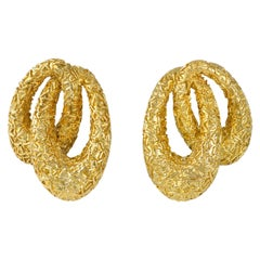 1970s Van Cleef & Arpels Gold Earrings