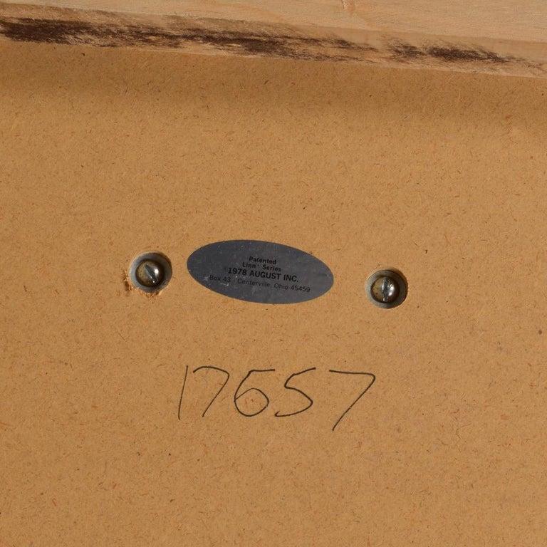 1970s Velvet Slipper Chairs by August Inc. For Sale 2