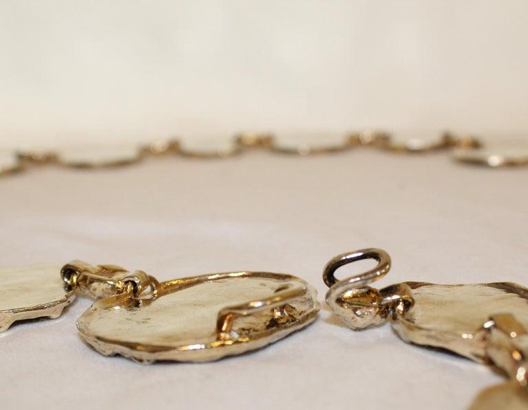 1970s Vermeil Rare Cartier Belt or Necklace For Sale 2