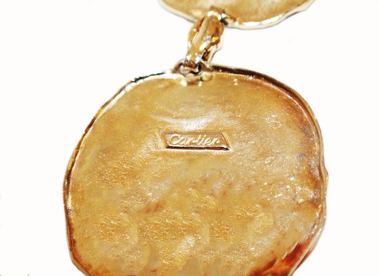 1970s Vermeil Rare Cartier Belt or Necklace For Sale 4