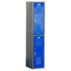 1970s Vertical Locker Cabinet, Refinished
