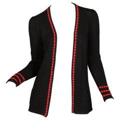 1970s Vintage Adolfo Cardigan Sweater