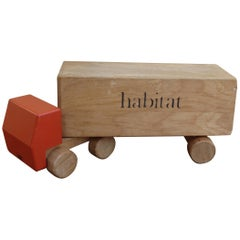 1970s Vintage Advertising Toy Lorry for Habitat